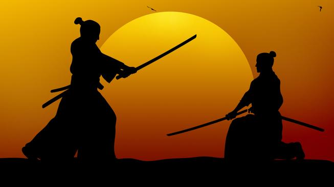 Japonští samurajové, ilustrační snímek