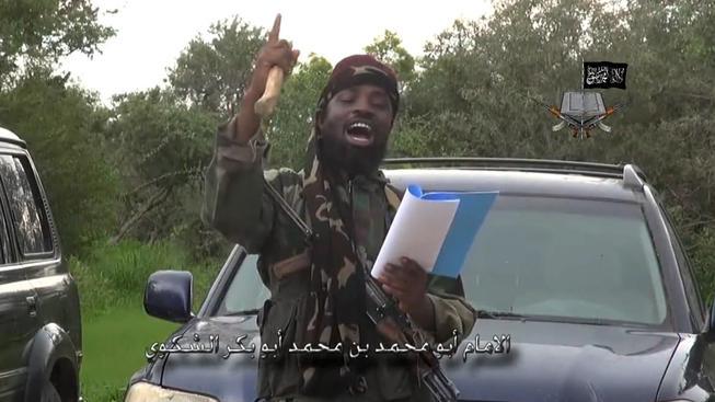 Vůdce Boko Haram Abubakar Shekau