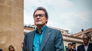 Předseda vlády katalánské oblasti Artur Mas