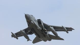 Britský letoun Tornado