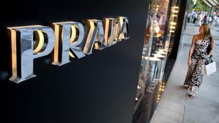 Jeden z obchodů ikonického módního domu Prada