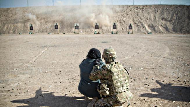 Američané pomohou Afgháncům s tréninkem bezpečnostních sil (Ilustrační snímek)