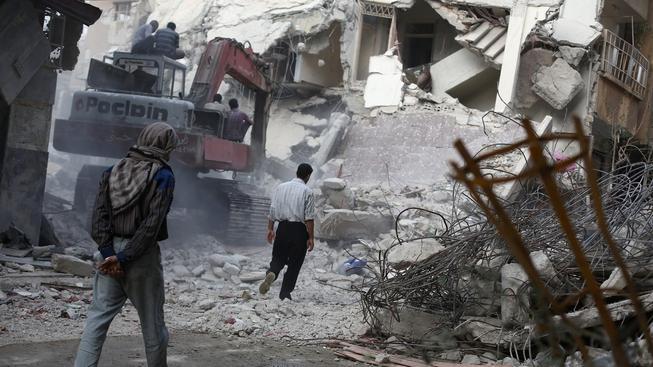 Syrští civilisté se kvůli náletům odvrací od opozice (Ilustrační snímek)