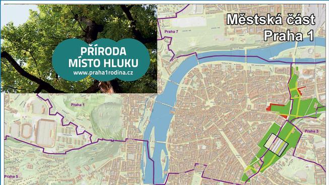 Může mít Praha 1 lesopark od Štvanice k Muzeu?