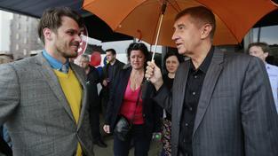 Leoš Mareš, Radmila Kleslová, Andrej Babiš