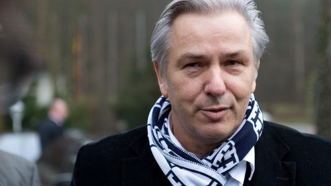 Odstupující starosta Berlína Klaus Wowereit