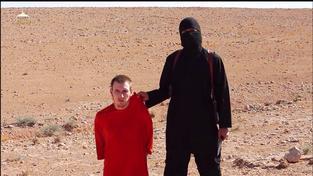 Stětí britského občana Alan Henninga bojovníkem Islámského státu.