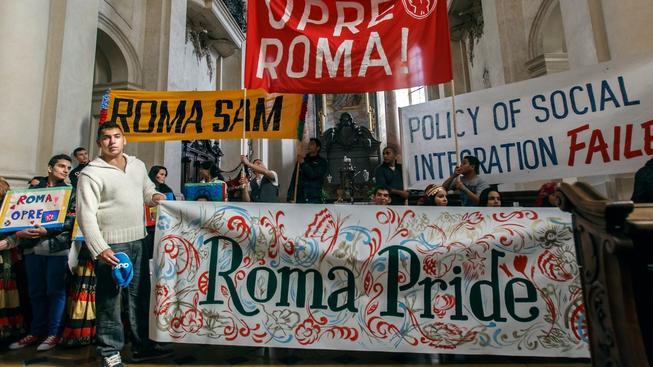 Pochody romské hrdosti se konaly v 15 evropských zemích