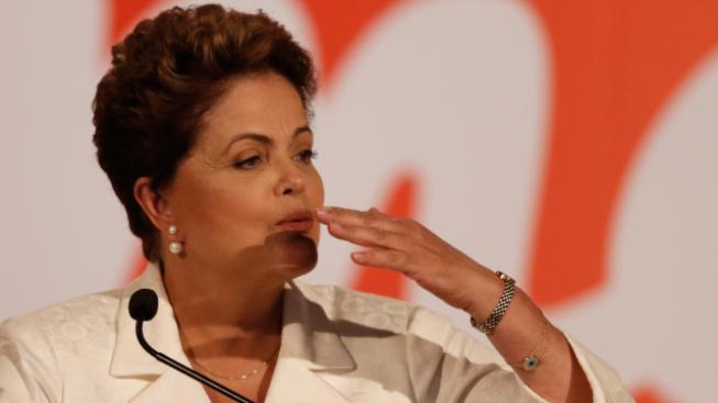 Dilma Rousseffová vyhrála první kolo prezidenstkých voleb v Brazílii.