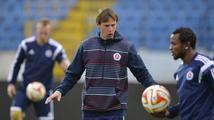 Straka se zápasu proti Spartě nedočká, ve Slovanu dostal vyhazov