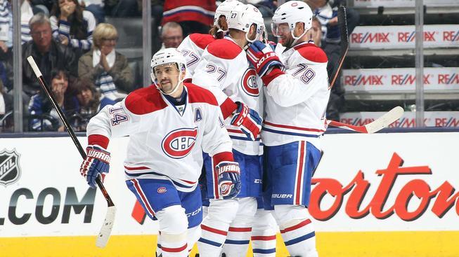 Tomáš Plekanec v dresu Montrealu