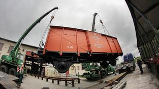 Repliku legionářského vlaku vyrobily dílny v Krasíkově