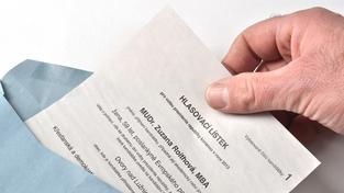 V Praze byl zřejmě rozdávány i neplatné hlasovací lístky (ilustrační foto)