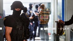 Člen zásahové jednotky ÚOOZ, ilustrační snímek