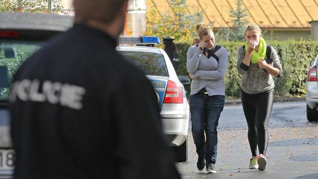 Studentky ze žďárské školy po útoku duševně nemocné ženy