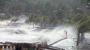 Tajfun Haiyan na Filipínách byl nejsmrtelnější katastrofou loňského roku
