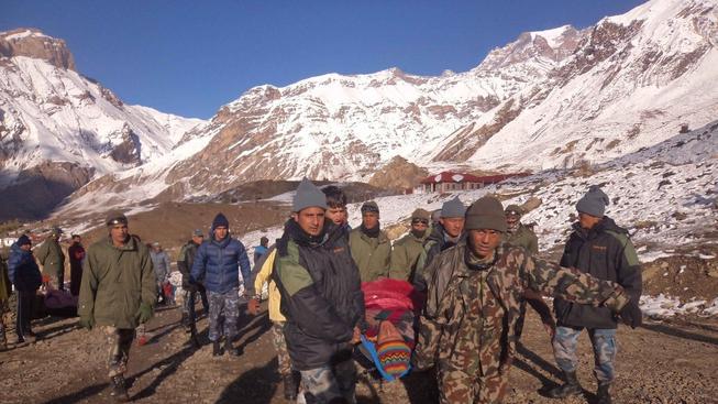 Sněhové bouře v nepálském okrese Mustang si vyžádaly přes dvacet obětí