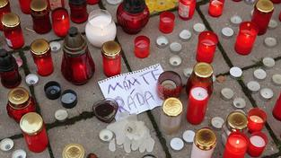 Sobotka ocenil ve Žďáru hrdinství zavražděného studenta