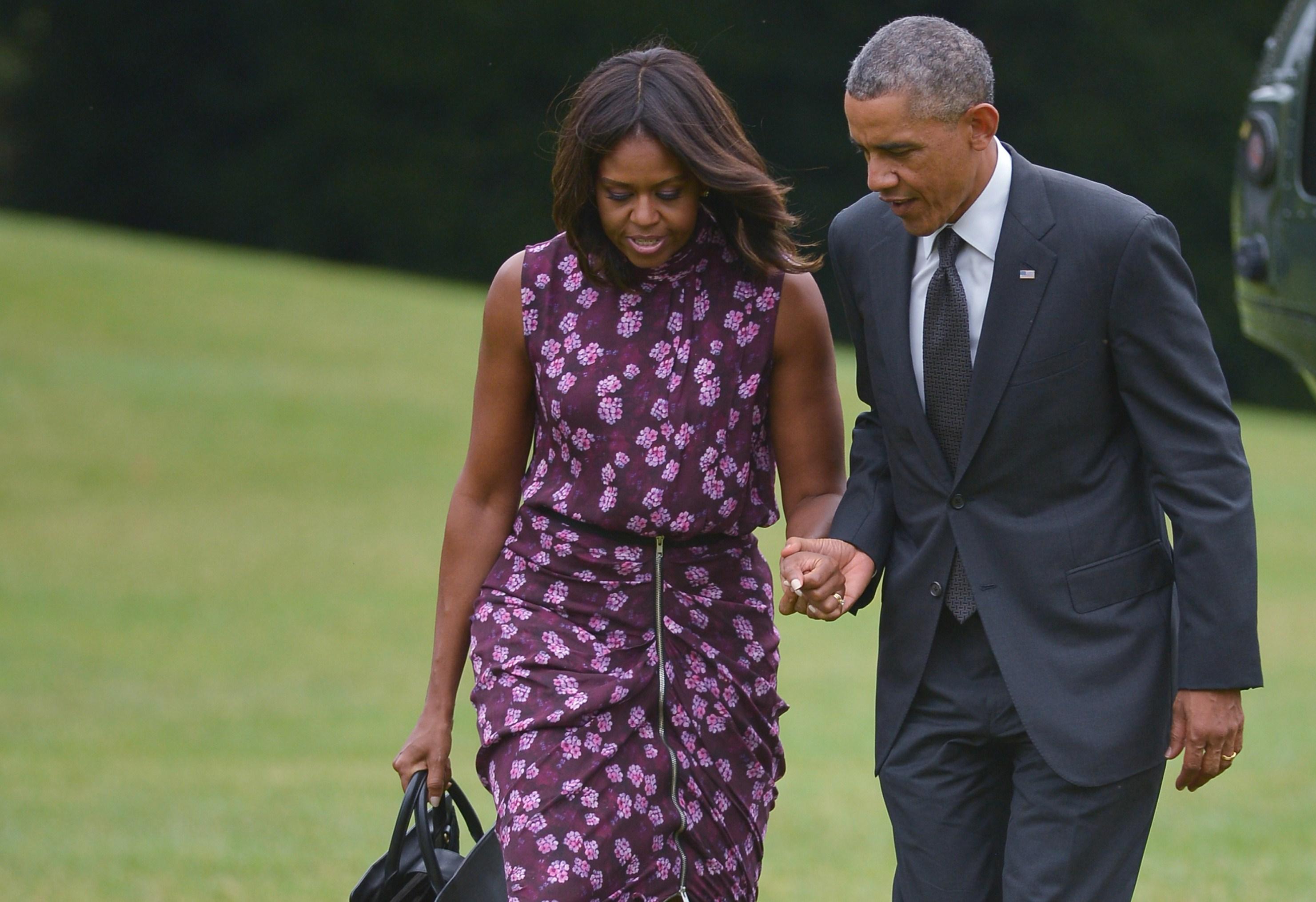 Obama pozval manželku na večeři a neměl na útratu. Jeho karta byla odmítnuta!