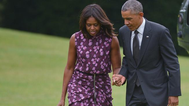 Za Obamu musela večeři zaplatit manželka Michelle.