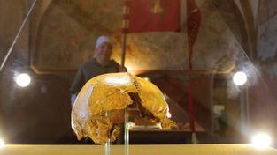 Ostatky Jana Žižky jsou vystaveny také v Prácheňském muzeu v Písku
