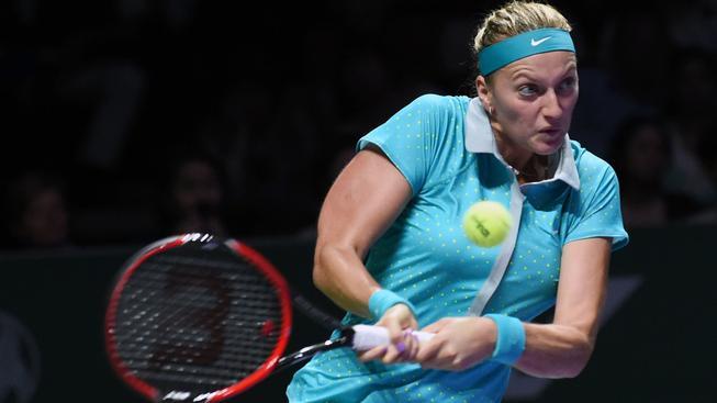 Petra Kvitová vstoupila do Turnaje mistryň porážku