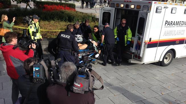 V kanadském hlavním městě Ottawa se střílelo