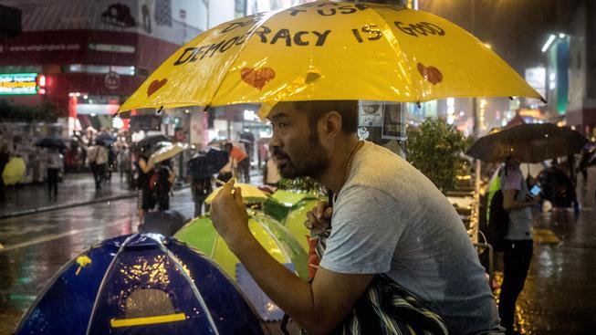 Demonstrující Hongkong možná spustil řetězec historických událostí