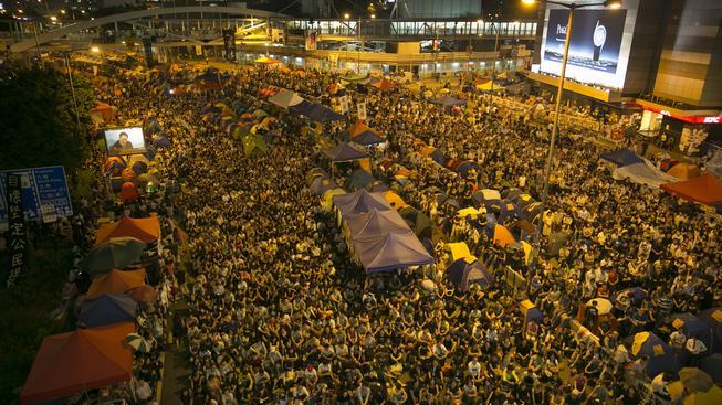 Hongkong, protesty