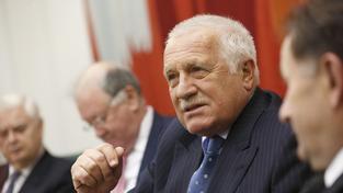 Exprezident Václav Klaus