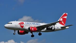 České aerolinie se potácejí ve velkých ekonomických potížích