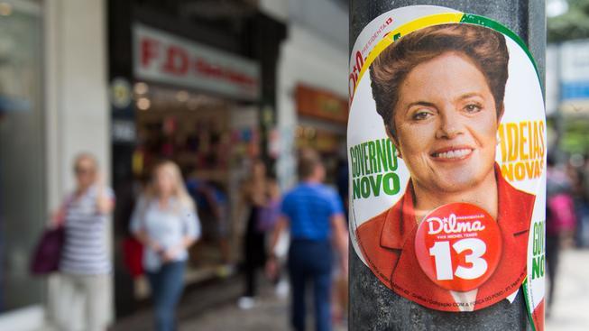 V brazilských volbách má navrch obhajující prezidentka Dilma Rousseffová