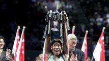 Williamsová na Turnaji mistryň dosáhla na vítězný hattrick