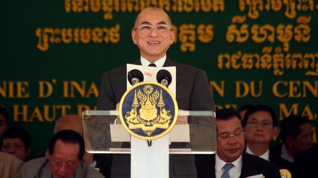 Kambodžský král Norodom Sihamoni umí výborně česky