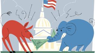 Demokraté a republikáni se o americký Kongres přetahují zcela tradičně