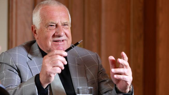 Český exprezident Václav Klaus