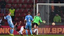 Sparta deklasovala Slovan 4:0 a přiblížila se postupu