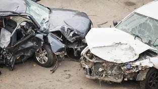 Výpadovku z Brna na Bratislavu zcela paralyzovala hromadná dopravná nehoda. Ilustrační foto.