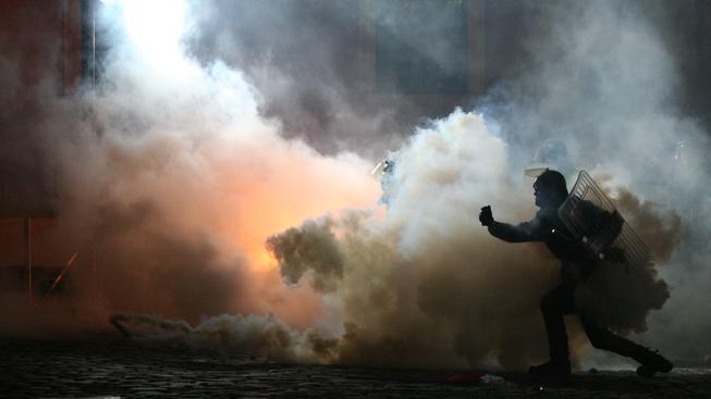 Oslavy Dne nezávislosti v Polsku obvykle provázejí násilnosti v ulicích (ilustrační foto)
