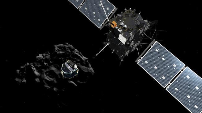 Sonda Rosetta s přistávacím modulem Philae