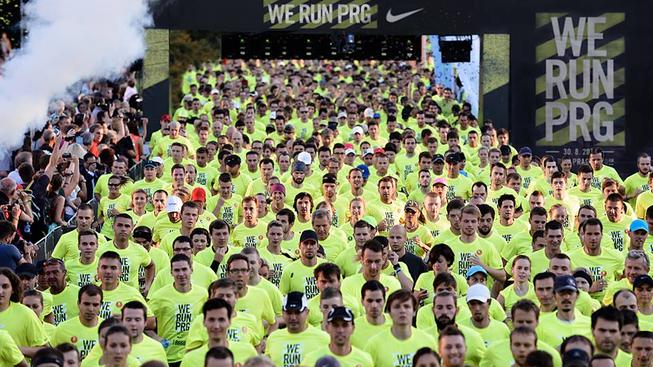 We Run PRG 2014 se zúčastnily tisíce lidí