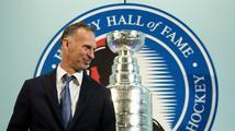 Hašek byl jako první Čech uveden do hokejové Síně slávy