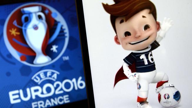 Maskot fotbalového ME 2016 ve Francii