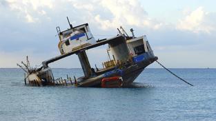 Při potopení trajektu Sewol v dubnu zahynulo přes tři sta lidí (ilustrační foto)