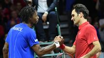 Francie hraje se Švýcarskem ve finále Davis Cupu nerozhodně 1:1
