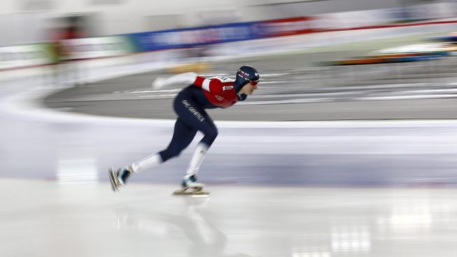 Martina Sáblíková ovládla v Soulu závod s hromadným startem