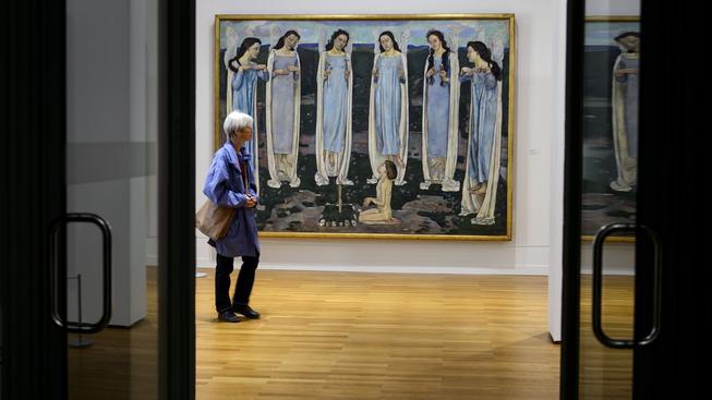 Muzeum výtvarného umění v Bernu (na snímku interiér muzea) oznámilo, že převezme kontroverzní Gurlittovu sbírku
