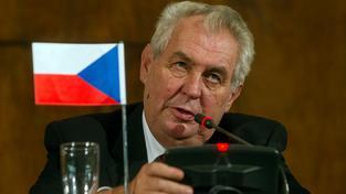 Prezident Miloš Zeman mluvil v rozhlase sprostě