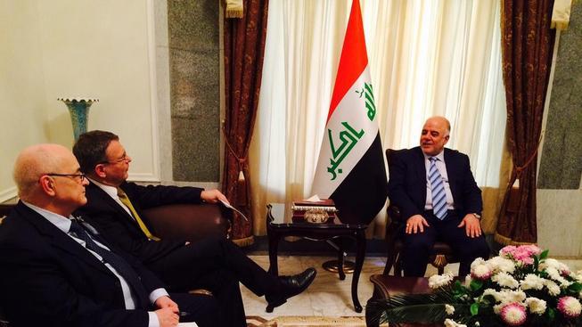 Ministr zahraničí Lubomír Zaorálek se sešel s čelními představiteli Kurdistánu.