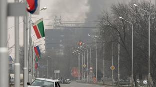 Lidé v Grozném kvůli protiteroristicé operaci raději vůbec nevycházejí ven